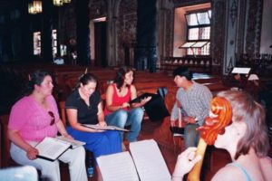 Four soloists-rehearsal2